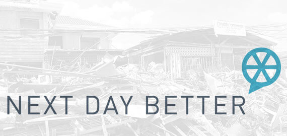 Next Day Better: Hackathon for Typhoon Haiyan